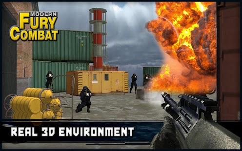 Modern Combat Fury - náhled