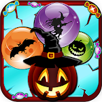 Bubble Shooter Game Halloween Icon