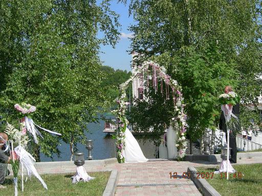 Банкетный зал «Шатер «Эль Гунна»» для свадьбы на природе 2