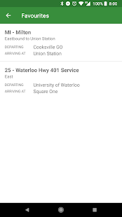 Schedules for GO Transit