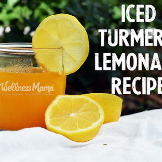 Iced Turmeric Lemonade
