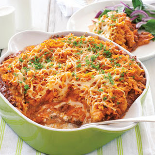 Cheesy Beef And Carrot Stack