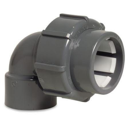 PVC Flex Fit Vinkel 90gr 50/1½ lim