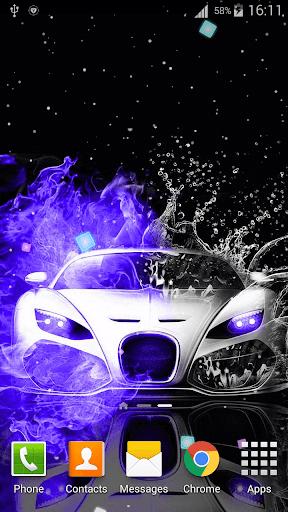 Neon Cars Live Wallpaper HD 2.8 screenshots 1