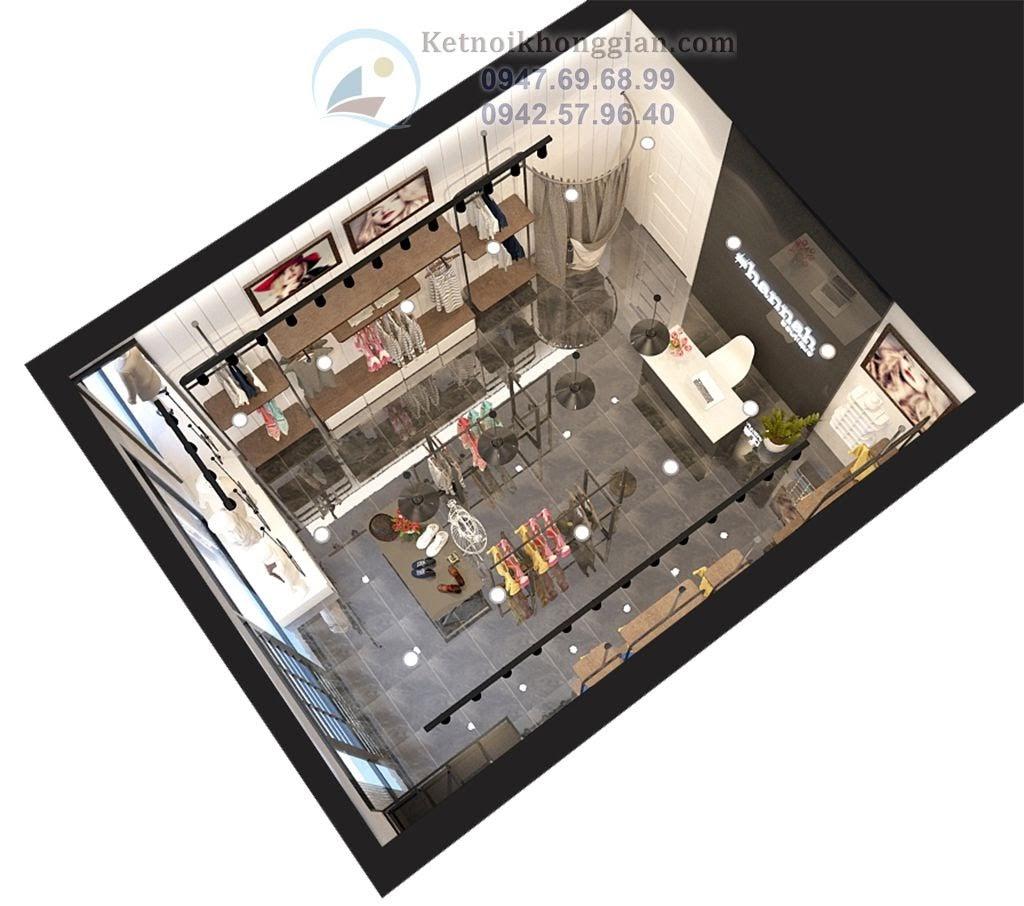 thiết kế shop thời trang nữ cao cấp chuyên nghiệp