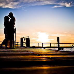Love Love Love by Sunset by Handoko Lukito - People Couples