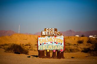 Photo: God Never Fails - Niland, CA
