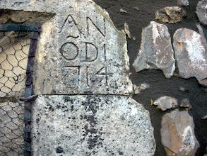 Photo: boletín 117 - Fecha de restauración (1714)