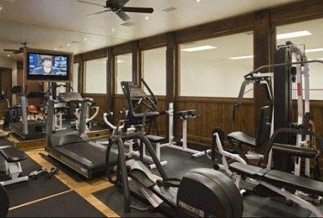 Home Gym dekorace - náhled