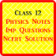 Download Class 12 Physics Notes and NCERT Solutions 2019 For PC Windows and Mac