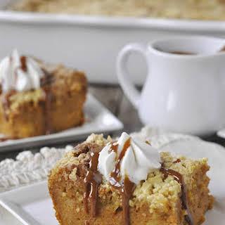 Pumpkin Pie Cake.