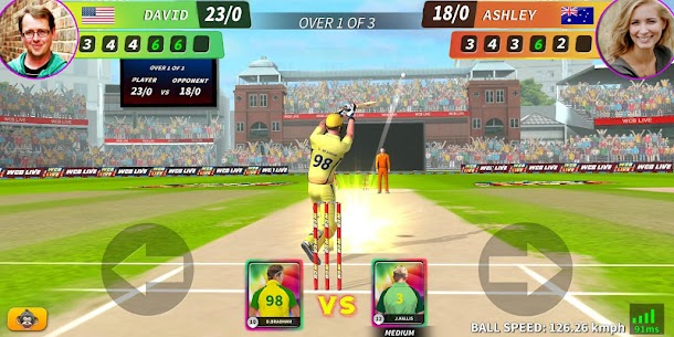 WCB LIVE Cricket Multiplayer: PvP Cricket Clash 1