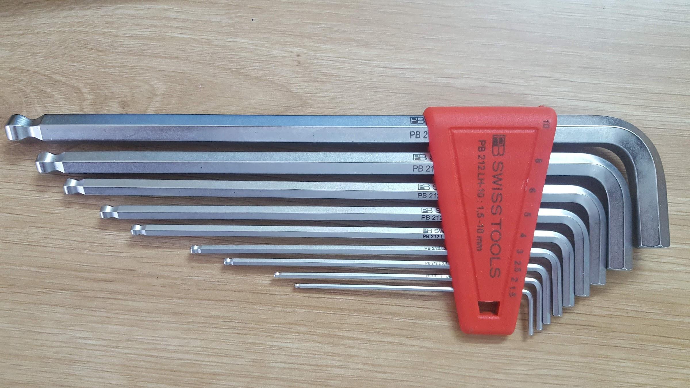 bộ lục giác swiss tools pb 212lh-10