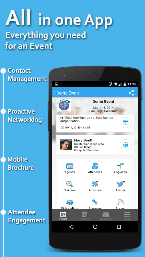 Whova - Networking at Events- screenshot