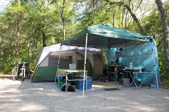 Photo: car camping at its best