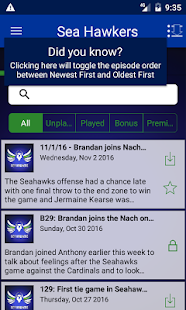 Sea Hawkers: Seattle Seahawks- screenshot thumbnail