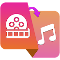 Video to Audio Music: Video to MP3 Converter icon