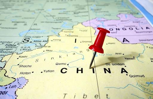 Gap China Map.China Spots A Gap In Us Brand S T Shirt Map
