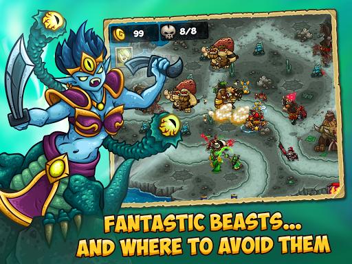 Booblyc TD - Cool Fantasy Tower Defense Game screenshots 14