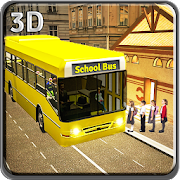 Schoolbus Driver City Drive