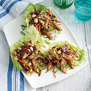 Mu Shu Chicken Lettuce Wraps.
