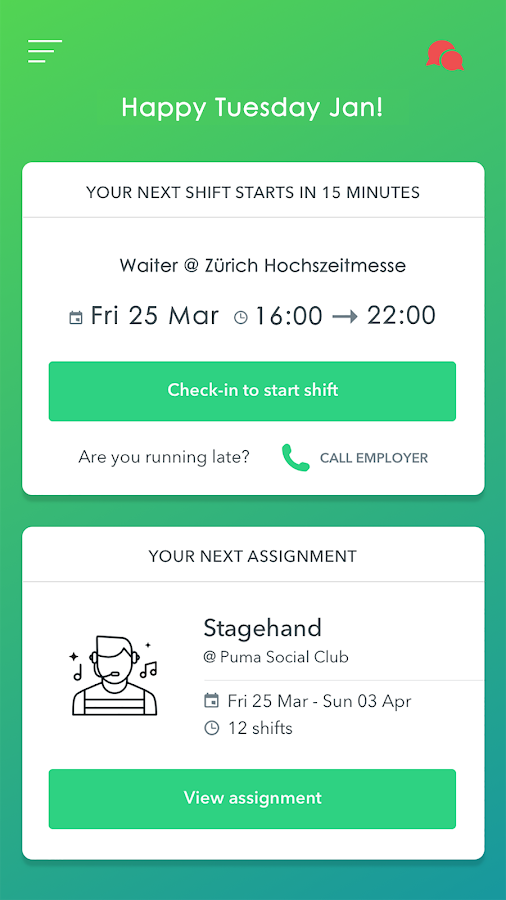 Adia: Jobs on Demand- screenshot