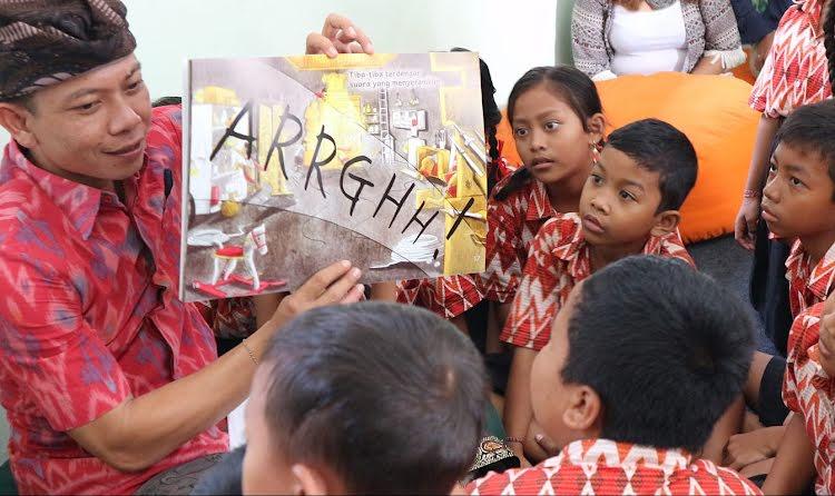 Créer une plate-forme numérique élargissant l'accès à la lecture en Indonésie