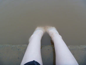 Photo: Per usual, I ended up in the Mekong River