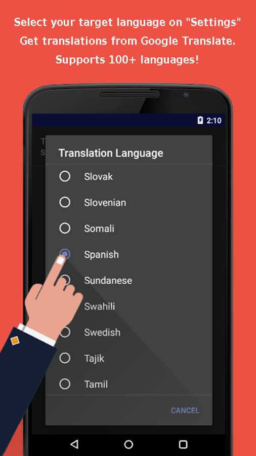 Translation Browser Free- screenshot