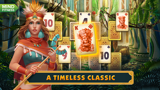 Solitaire: Treasure of Time screenshot 1