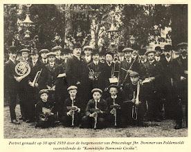 Photo: 1910 Koninklijke Harmonie Cecilia