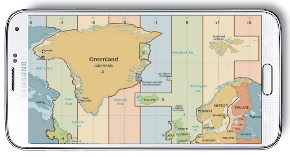 World Map Time Zone Android Apps On Google Play - Nj timezone