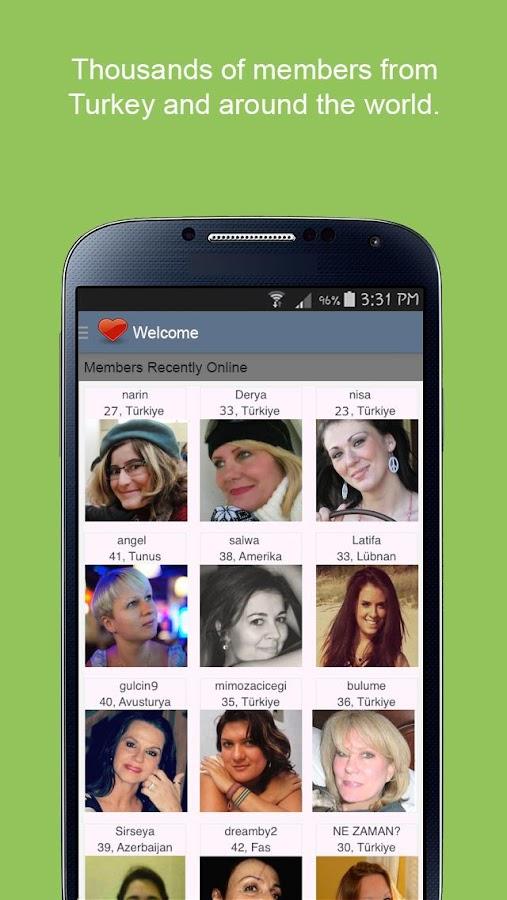Turkey dating app