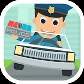 Police Kids Toy Car Game