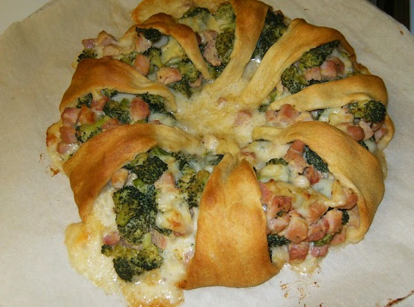 Ham Broccoli Swiss Ring-a-round Recipe