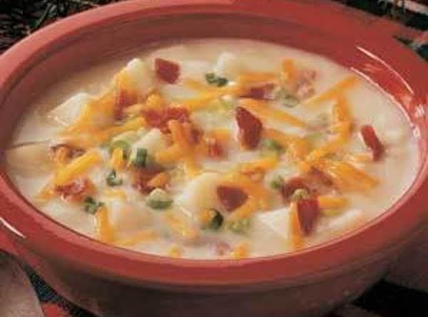 Baked Potato Soup From A Recipe I Love.