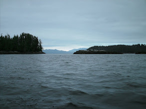 Photo: May 31 - Crossing Rivers Inlet.