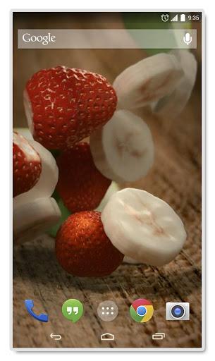 Strawberry Banana Apple LiveWP