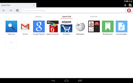 Opera browser for Android beta 29.0.1809.93516 screenshot 6963