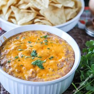 Cheesy Ranch Bean Dip.