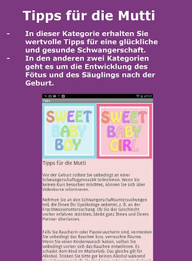 Baby-Entwicklung, Galerie , TB 1.0 screenshots 7