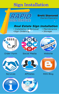 Rapid Sign Service - náhled