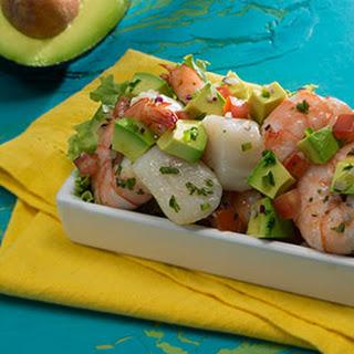 Shrimp and Scallop Ceviche with Avocado Recipe