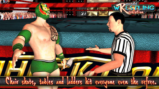 World Wrestling Revolution - Free Wrestling Games  screenshots 4