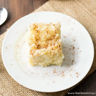 Easy Vegan Vanilla Rice Pudding Hack.