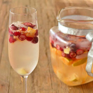 Champagne Sangria.