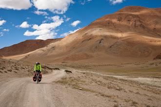 Photo: Detour to Lake Tso Kar (approx 4000 meters about sea level), Manali-Leh Highway, Ladakh, Indian Himalayas