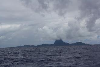 Photo: Approaching Bora Bora