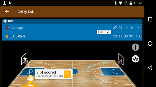 Sports Alerts - NBA edition 2.7.2 screenshots 6