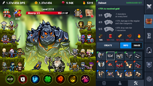 Taptic Heroesuff0dIdle Tap RPG clicker games filehippodl screenshot 3